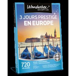 3 JOURS D'EXCEPTION EN EUROPE
