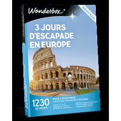 3 JOURS D'ESCAPADE EN EUROPE