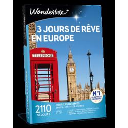 3 JOURS DE REVE EN EUROPE