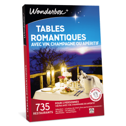 TABLES ROMANTIQUES