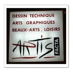 artis facta dessins loisir créatif encadrement limoges